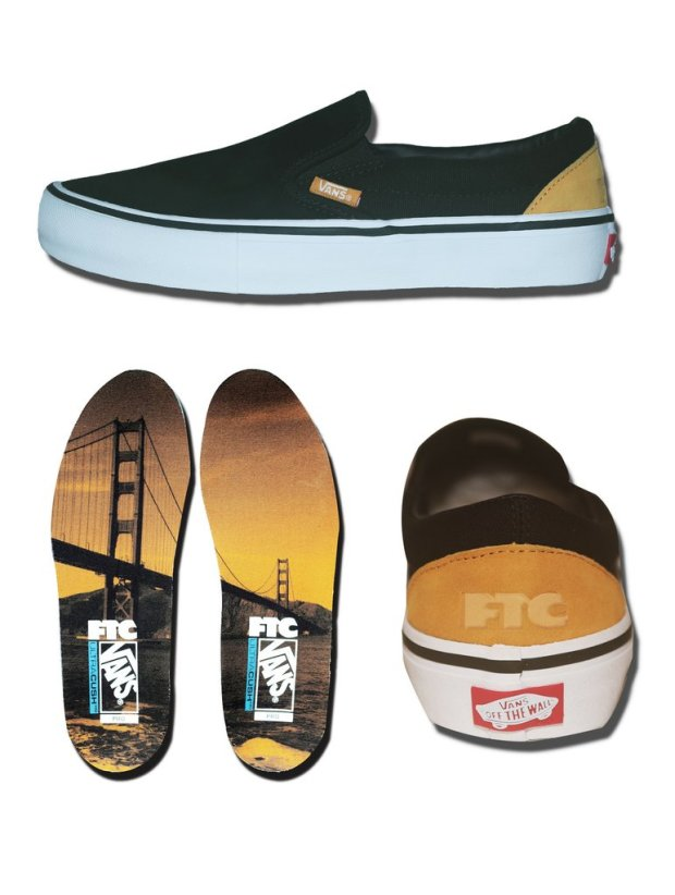 fabc93cf62 Vans x FTC – Slip-On Pro (Available Now!)