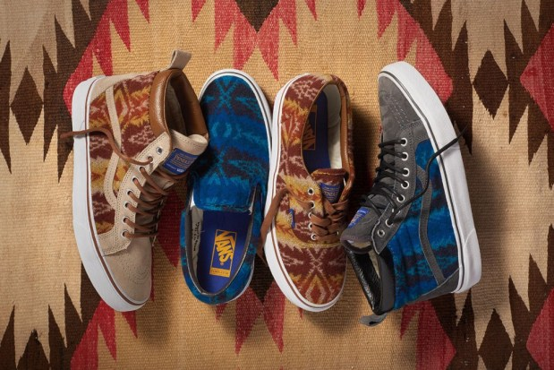 ed5fa2740d Vans x Pendleton – Collection (Holiday 2015)