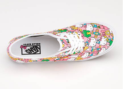 6645a47c0b Vans x Hello Kitty – Authentic Lo Pro All-Over Print (available now!)
