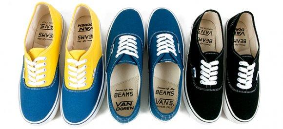 """371d8492f2 Vans Japan x BEAMS – Authentic """"Van Doren"""" (Japan Only)"""