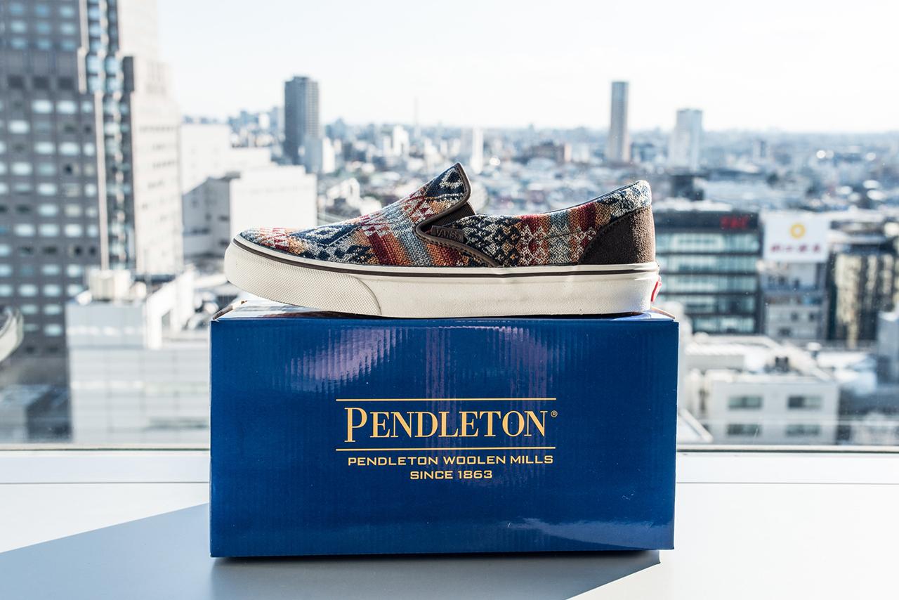 Vans Japan x Pendleton – Collection (Fall Winter 2013) 15c647f414