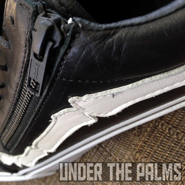 via IG! Check out our review of the Vans Vault x Blends Old Skool Zip LX on our site!  Tons of detailed pics. (link in bio) #underthepalms #blendsvans #blends @blendsla