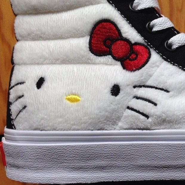 via IG! What's your thoughts on the Sk8-Hi?  #underthepalms #hellokitty #hellokittyvans
