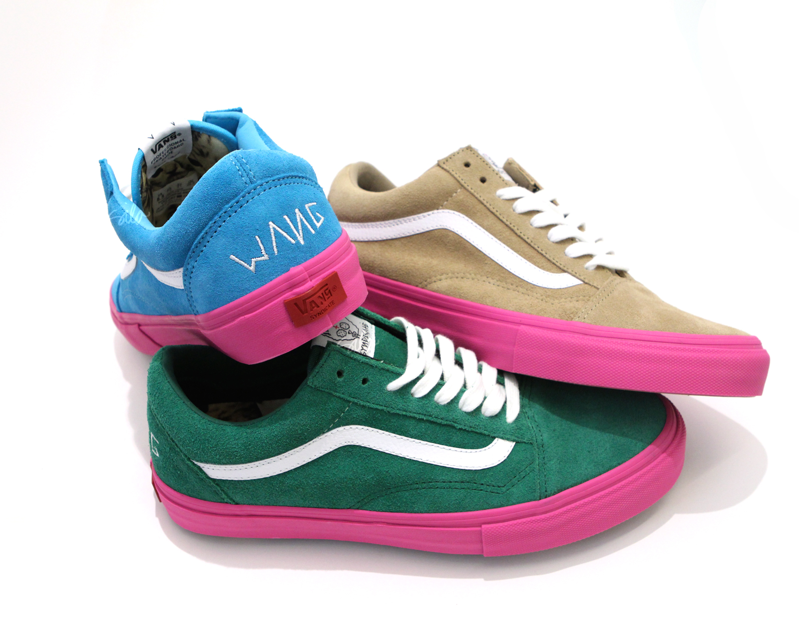"d544045815 Vans Syndicate 026.164.3 x Odd Future – Old Skool ""S"" Pack (via  Silostore)"