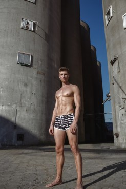 Model Stef van Geleuken shot by Martijns Mouter for Garcon Model underwear - 1
