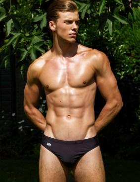 Garcon model swimwear Tuscany collection 2