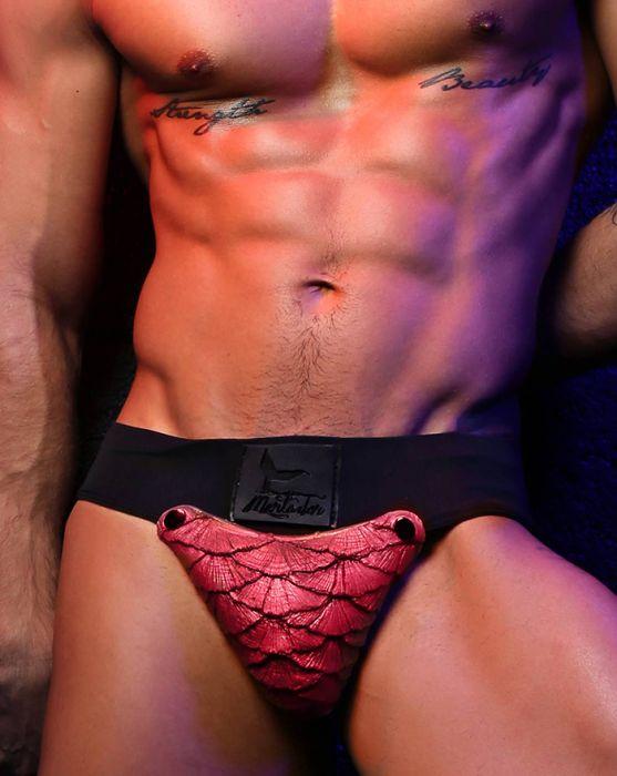 1mensunderwearsiliconecodredrusset3 Underwear