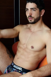 Garcon model underwear + Cristian by karim Konrad 12