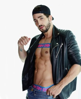Garcon model underwear + Cristian by karim Konrad 28