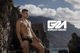 Garcon model Rick day underwear campaign Italy 14