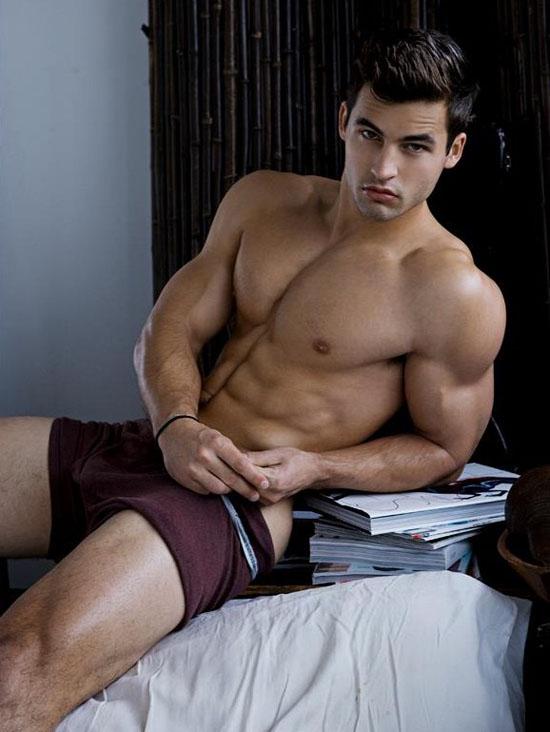 Hot Underwear Model