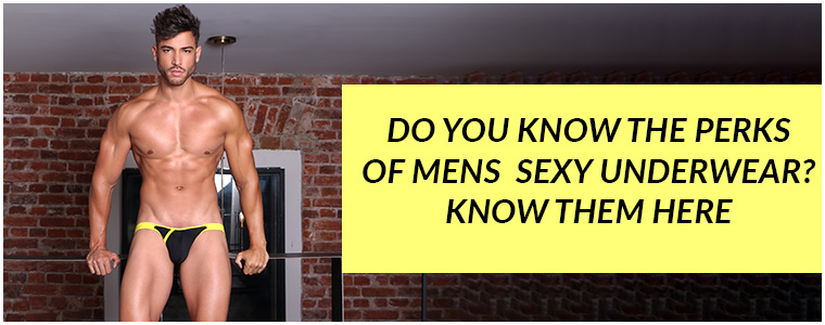 Do you know the perks of Mens Sexy Underwear? Know them here