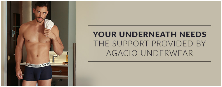 Your underneath needs the support provided by Agacio Underwear