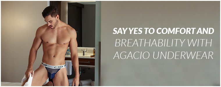 Say yes to comfort and breathability with Agacio Underwear