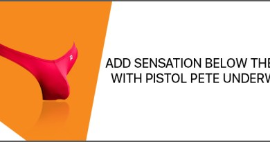 Add sensation below the belt with Pistol Pete Underwear