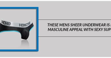 These Mens Sheer Underwear is both masculine appeal with sexy support
