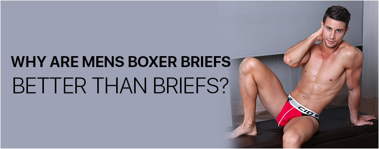 Why are mens boxer briefs better than briefs?