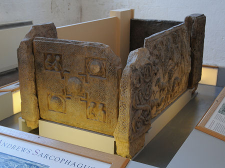 Current state of the St Andrews Sarcophagus