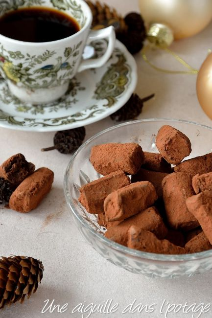 truffe chocolat café felder noël
