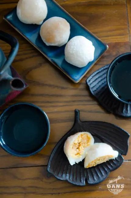 mochi cacahuète pâtisserie japonaise
