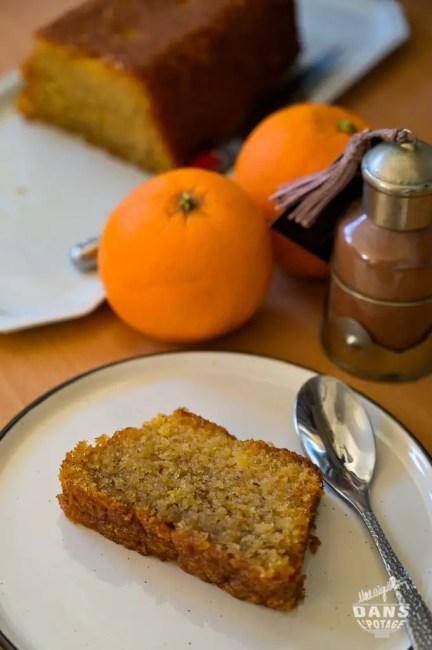 sublime cake marocain de Sophie Dudemaine chapelure poudre d'amande