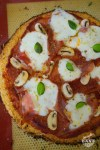 pizza pâte de chou fleur