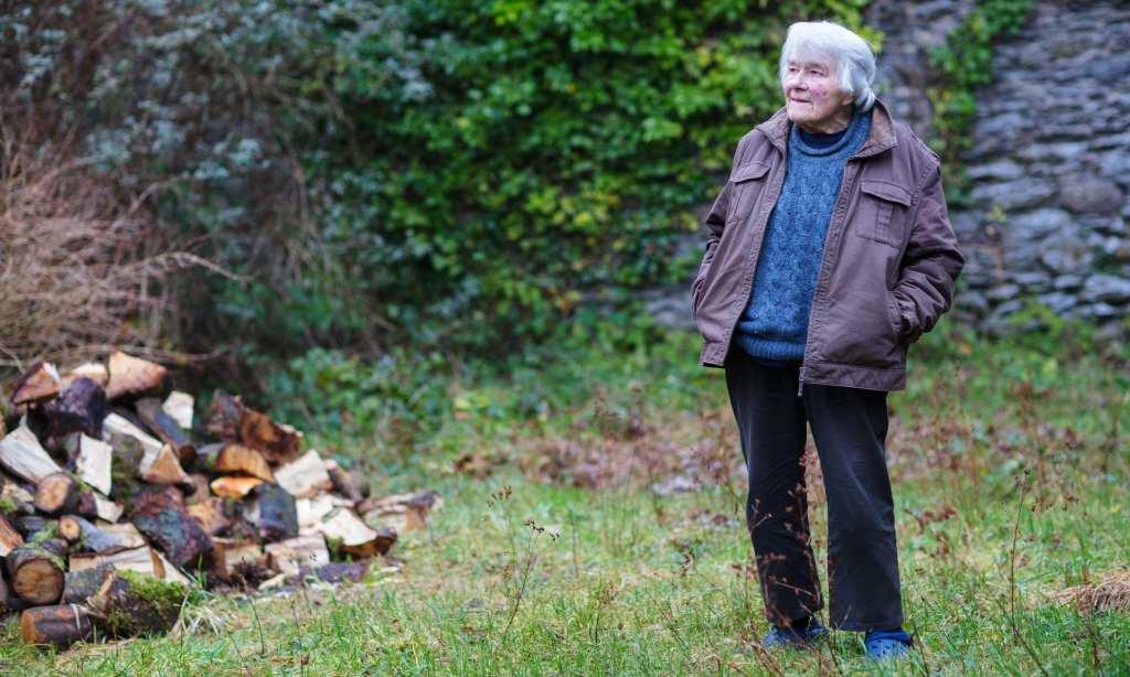 Dervla at home in Ireland ©   Pinterest