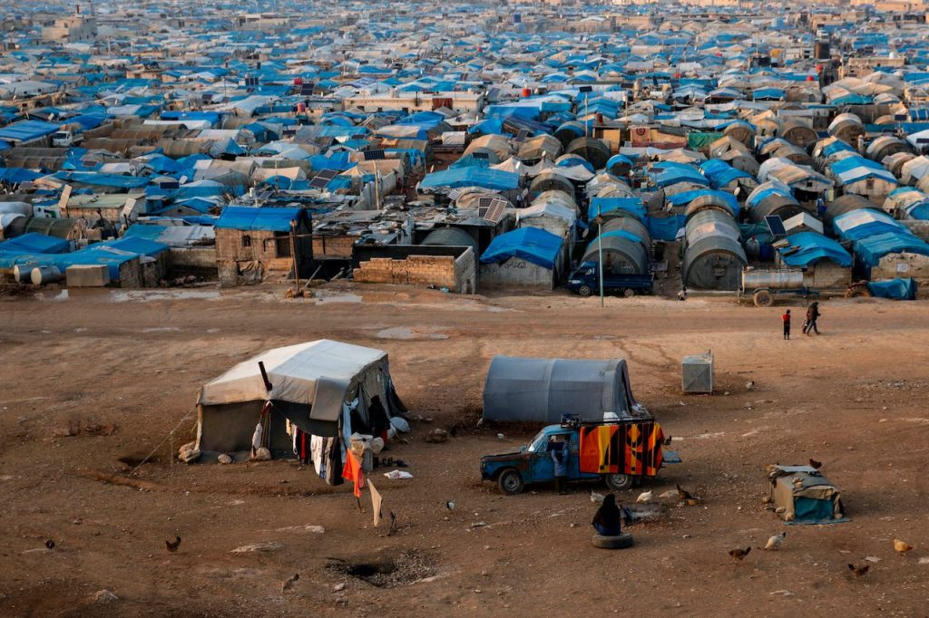 The Atma Refugee Camp (Jan 2018)   © Amores photos/Shutterstock