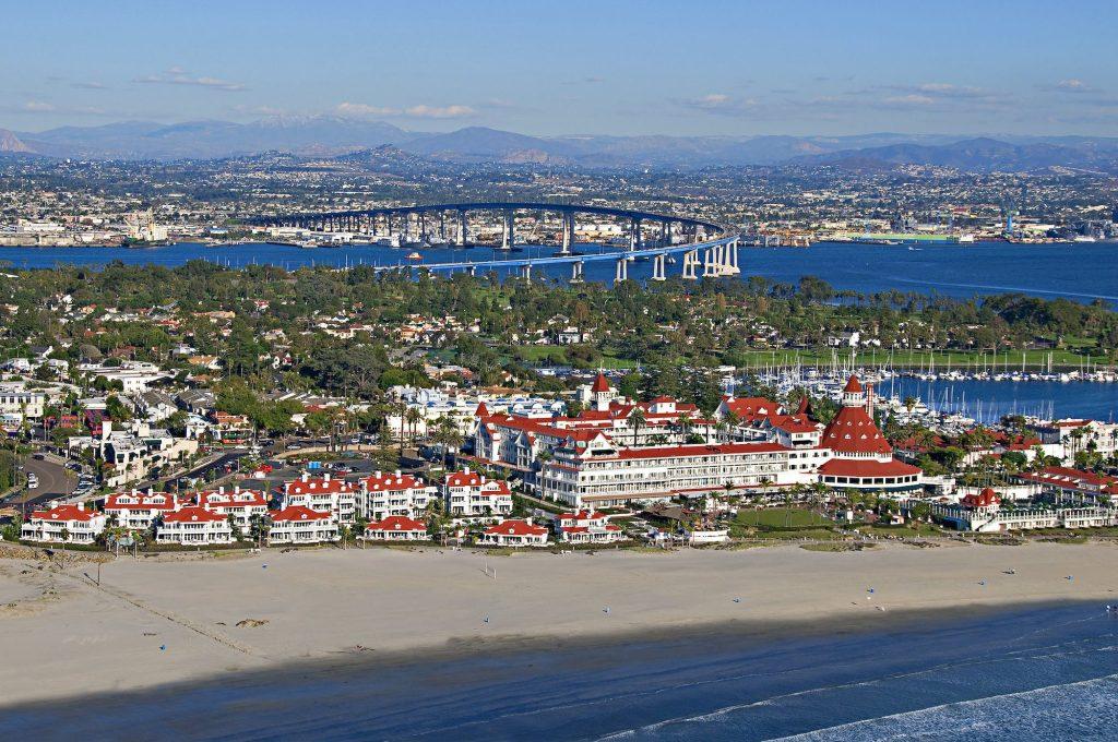 The Hotel Del Coronado is one of San Diego's most haunted hotels   © Hotel Del Coronado/Flickr (CC BY 2.0)