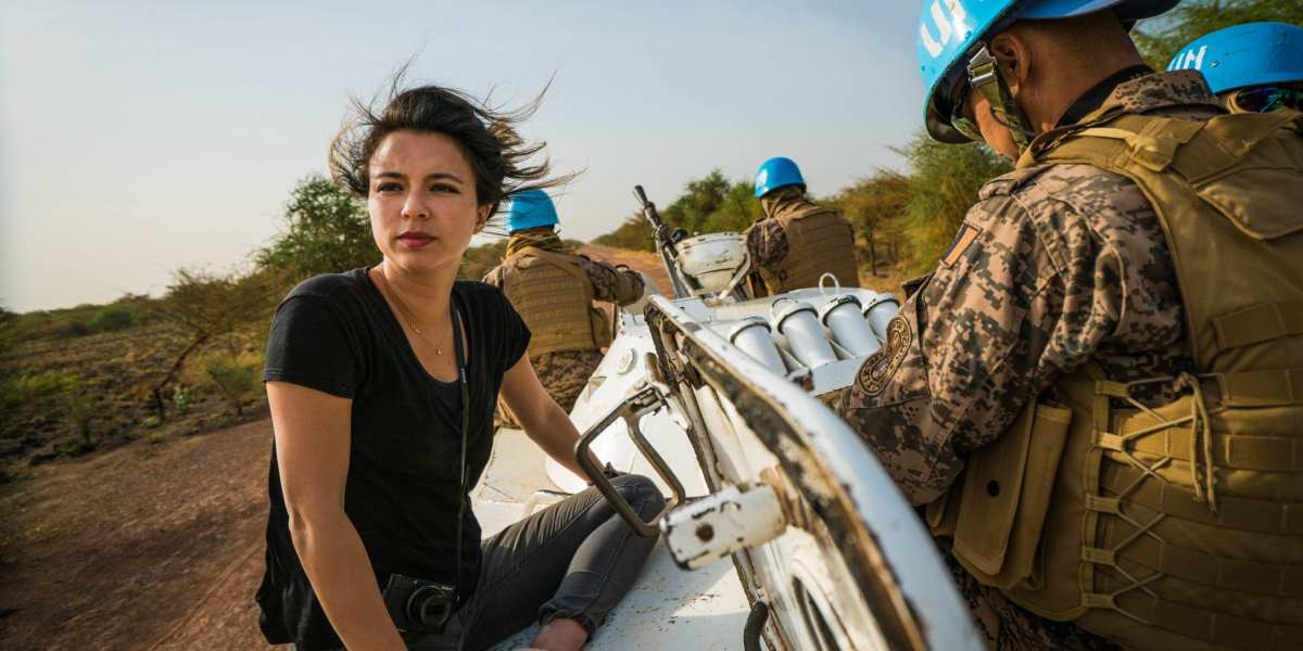 Isobel Yeung on assignment in South Sudan © | Provided by Vice on HBO