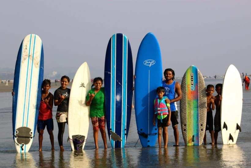 ©   Photo provided by Bangladesh Surf Girls and Boys Club