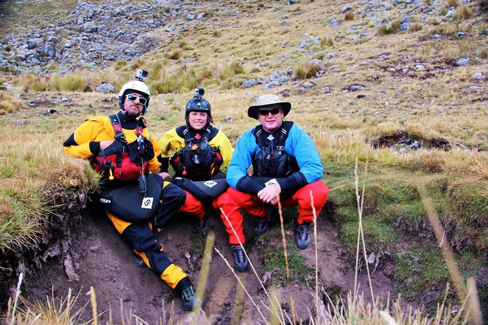 Darcy Gaechter, David Midgley, and Don Beveridge © | Kayak the Amazon Facebook