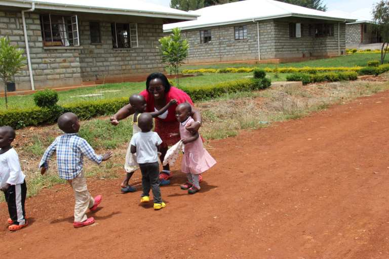 Sarah Maswai on Daycare Duty © | Katie Saatchi