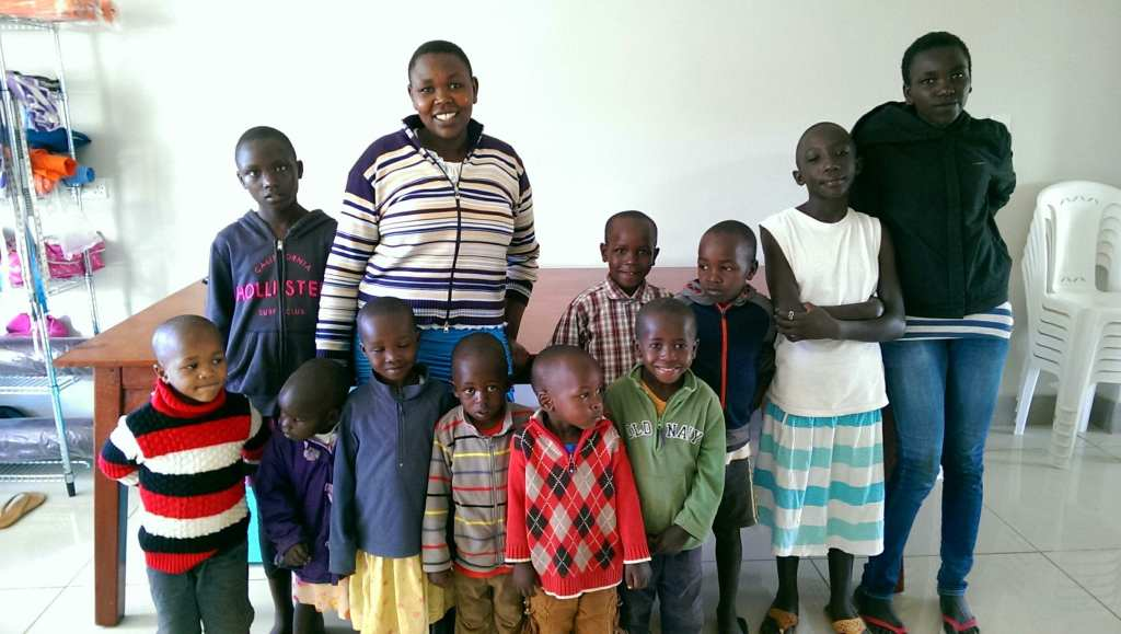 Children from the Sifa House in Kenya © | Katie Saatchi