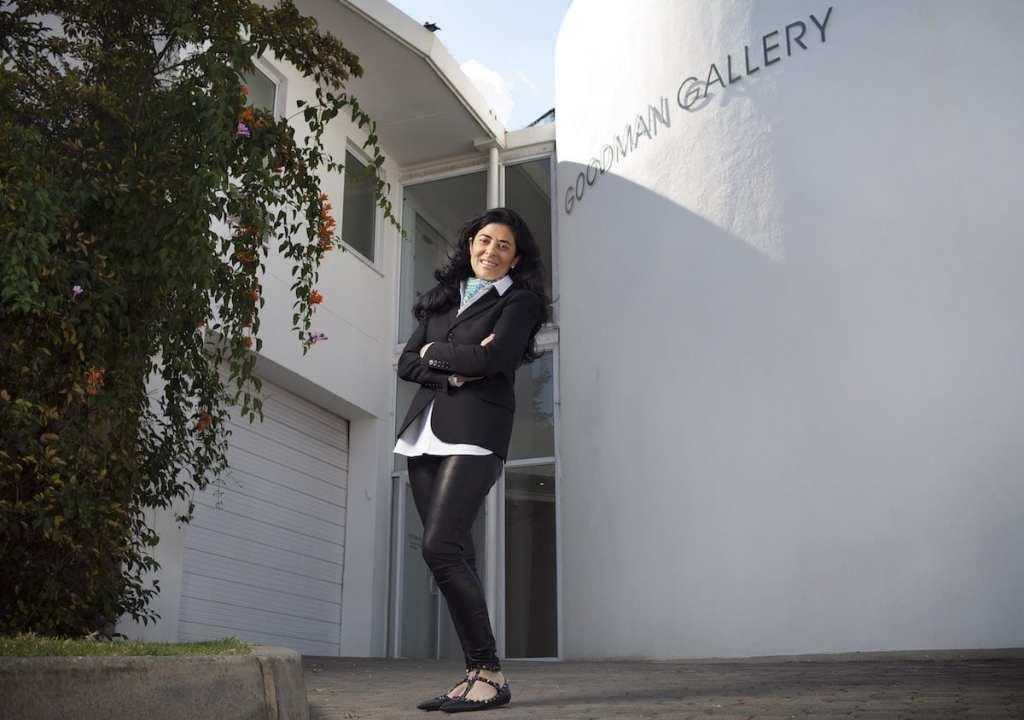 Liza Essers of the Goodman Gallery in Johannesburg   © Thys Dullaart/Courtesy of Goodman Gallery