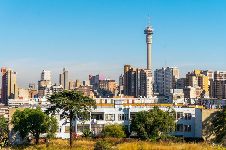 Architecture of downtown of Johannesburg, South Africa © | Sopotnicki/Shutterstock