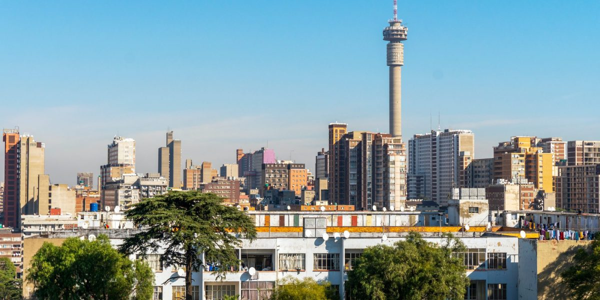 Architecture of downtown of Johannesburg, South Africa ©   Sopotnicki/Shutterstock
