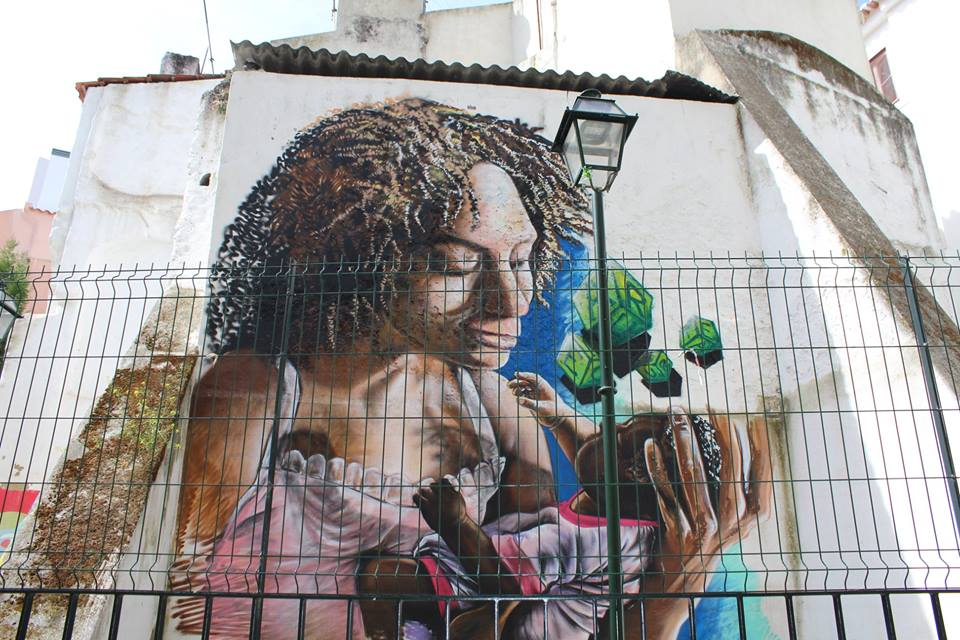Street art in Portugal | © Courtesy of Immersa Global Facebook Page