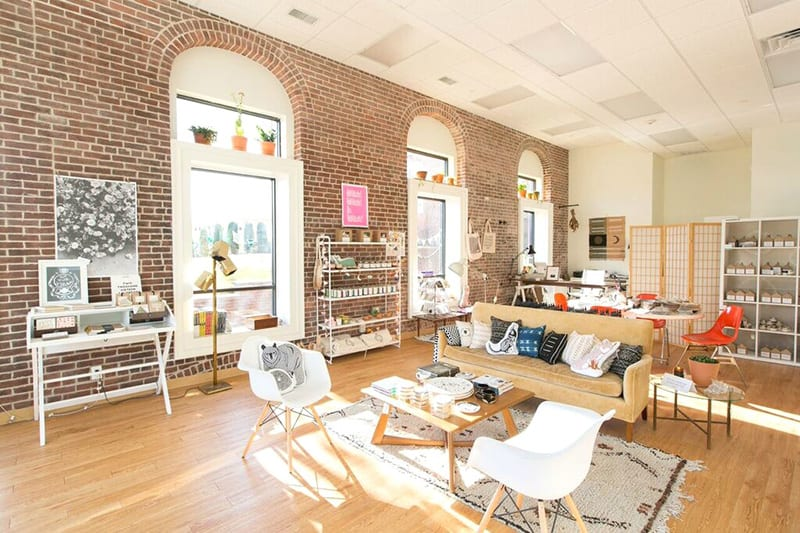 Sun drenched Hauswitch shop  interior | © Courtesy of Hauswitch