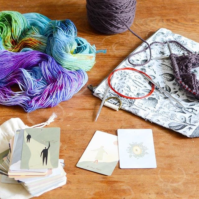 Yarn and other goods available at Circle of Stitches in Salem, Massachusetts. | ©Courtesy of Circle of Stitches
