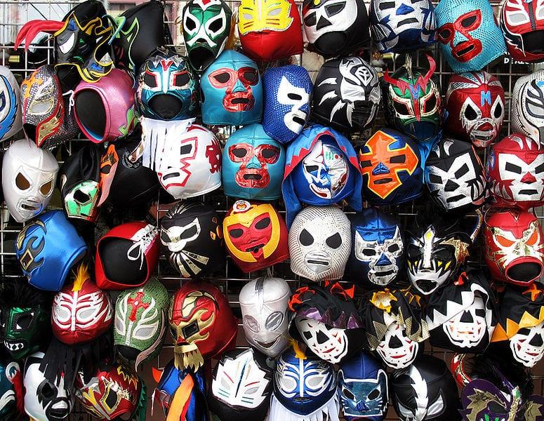 Lucha Libre masks  | © mamojo/Flickr
