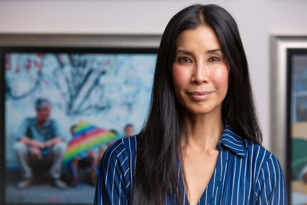Lisa Ling at the CNN offices in NYC | © Phil Provencio/Unearth Women