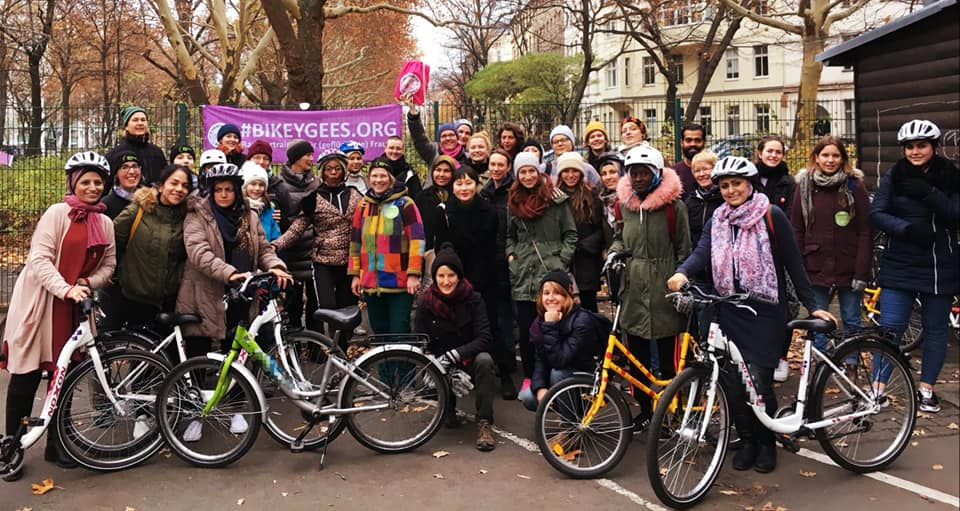 Bikeygees empowers migrant women in Berlin through cycling © | Bikeygees