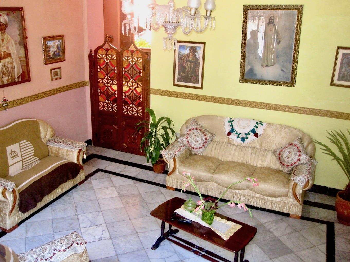 Inside Casa Andres, Grisel y Familia | © Courtesy of Barbara Torresi