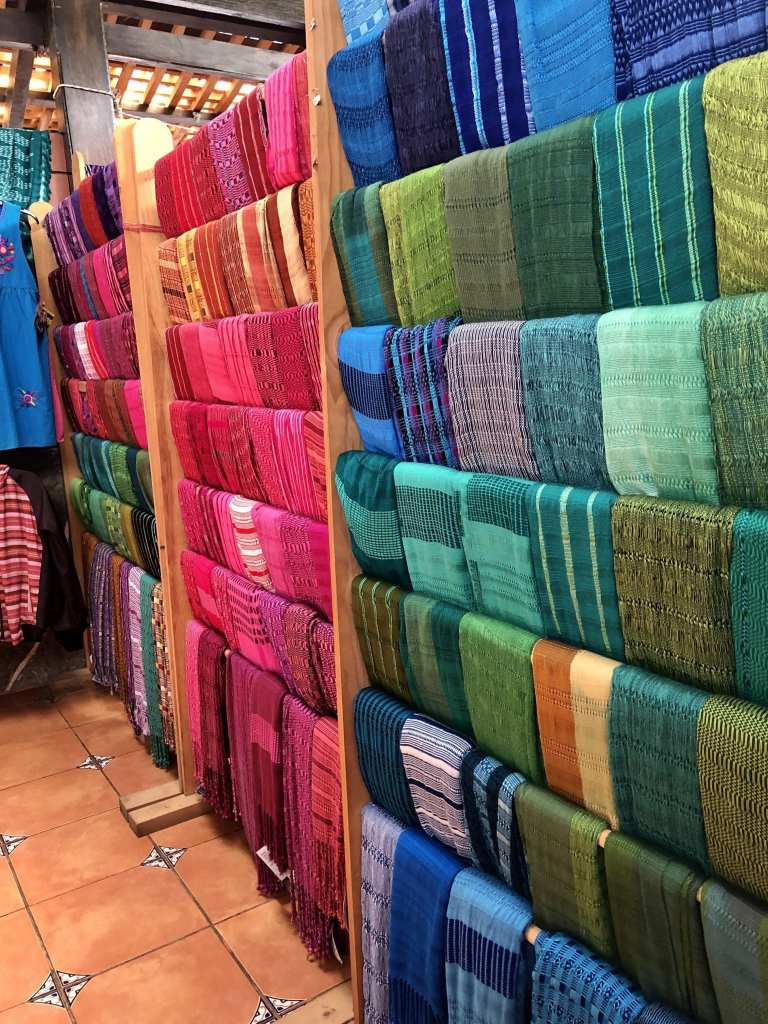 Inside the shop at Casa Flor Ixcaco | © Nikki Vargas/Unearth Women