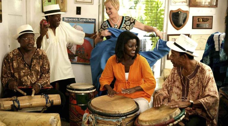 Kim Haas' new travel show celebrates Afro-Latinos and their widespread influence on Latin American culture ©   WNYC