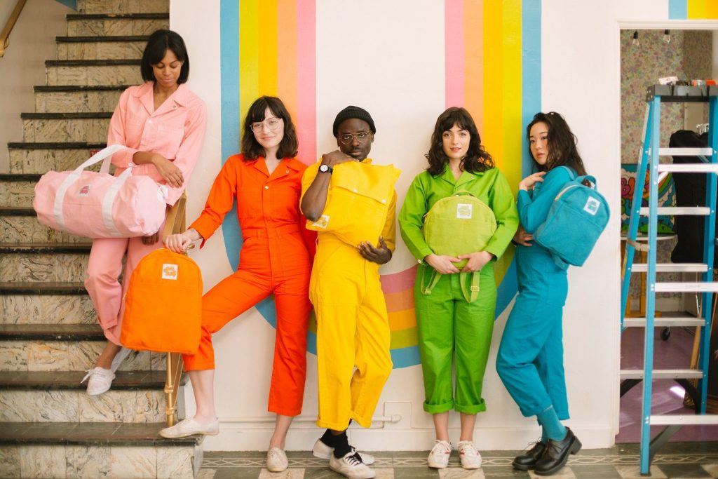 Jumpsuits in every color at this woman-owned shop in Los Angeles | © Courtesy of Big Bud Press