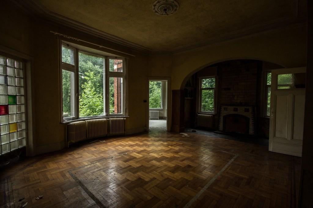 Villa Grammaire, villa abandonnée
