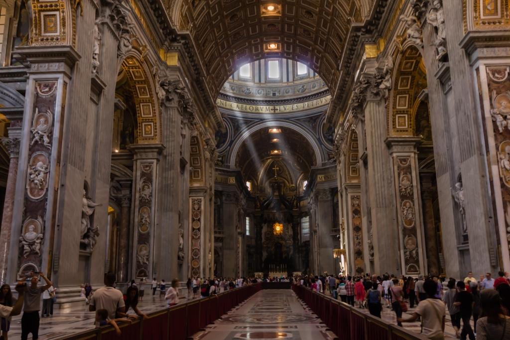 Rome vatican et basilique saint pierre une belge un for Exterieur basilique saint pierre
