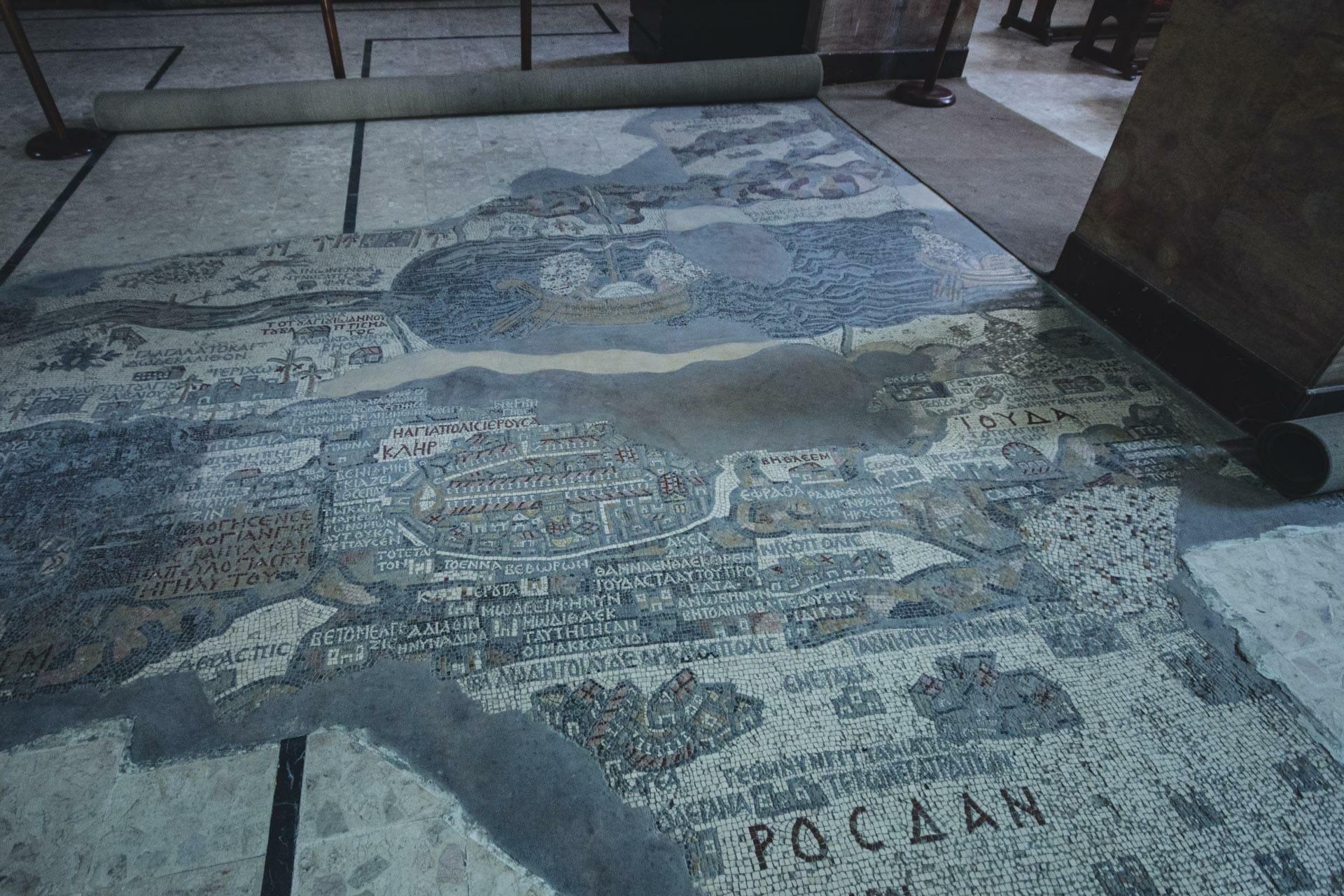 Madaba Mosaique